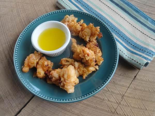 Deep Fried Lobster Bites