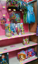 Photo: I've found the Disney Princess section, but the selection is looking a little slim.