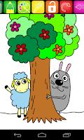 Screenshot of Coloring Book