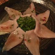 Yuzu Yellowtail Sashimi