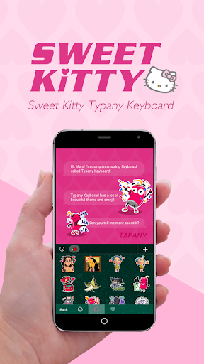 mod Sweet Kitty Theme Keyboard 2.5 screenshots 3