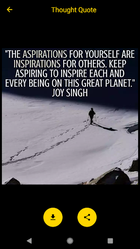 Thought Quotes by Joy Singh ✍?? screenshot 2