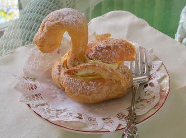 Swan Cream Puffs Recipe