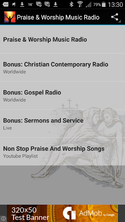 Praise & Worship Music Radio 1.0 screenshot 258694