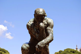 Photo: one of three original thinkers is here in BA - just chilling in a park