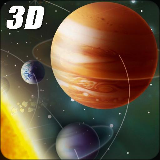 Solar System Live Wallpaper 3D: Screensaver Free