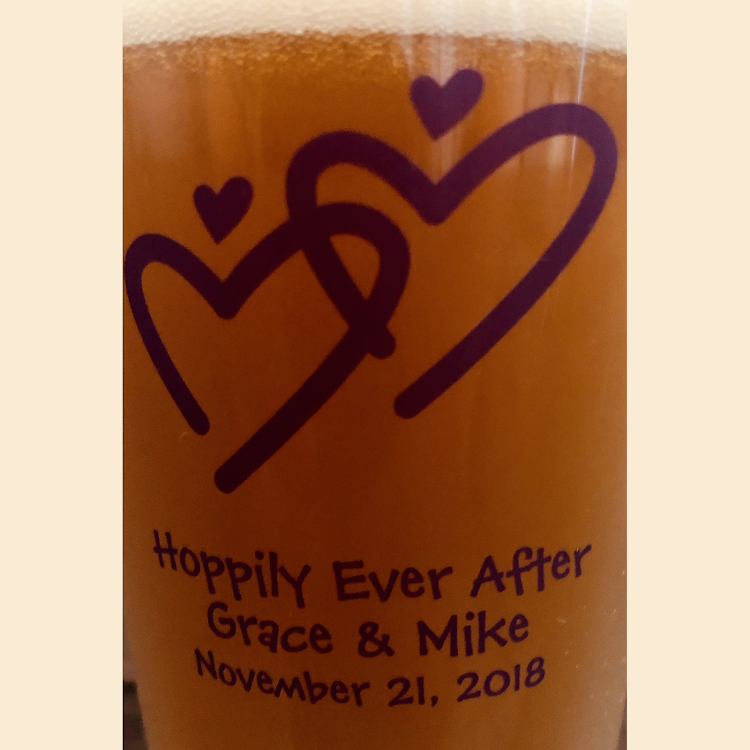 Logo of Grillin & Chillin Hoppily Ever After - Mike & Grace's Double IPA