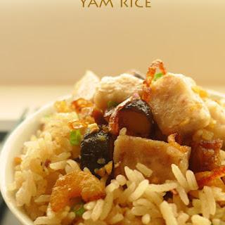 Yam Rice (芋头饭).