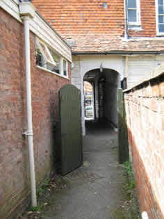 The Pebbles passageway Tenterden