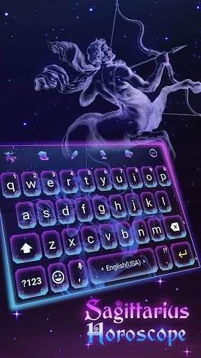 Sagittarius Horoscope Emoji Keyboard for Whatsapp for PC