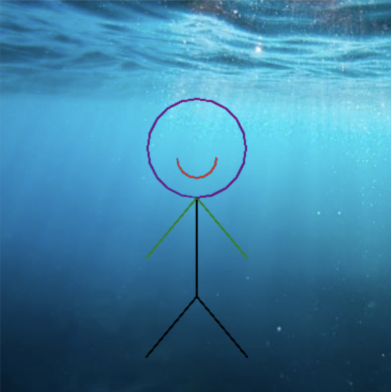 Try this stick figure Python project