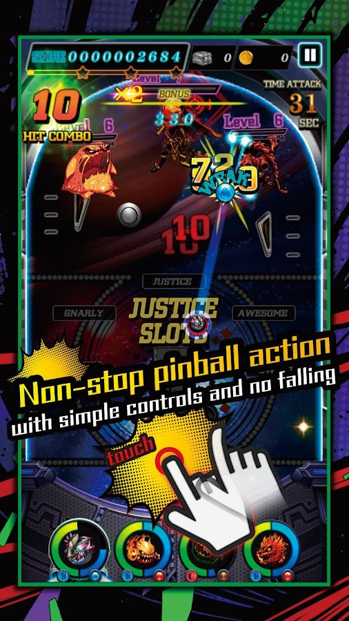 JUSTICE MONSTERS FIVE- screenshot