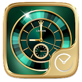 GoldenGreen GO Clock Theme