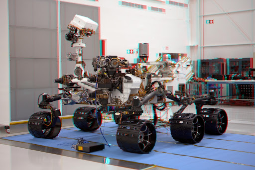 Mars Science Laboratory Mission Curiosity Rover Stereo