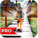 Piano Ninja Run Pro icon