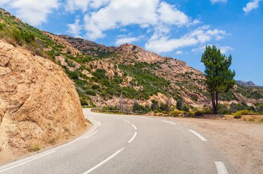 Les routes de Corse