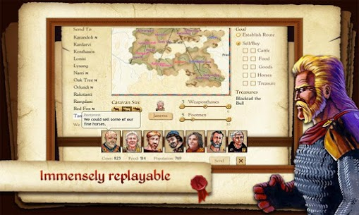 King of Dragon Pass Apk: Text Adventure RPG 3