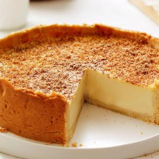 Vanilla Bean Custard Tart