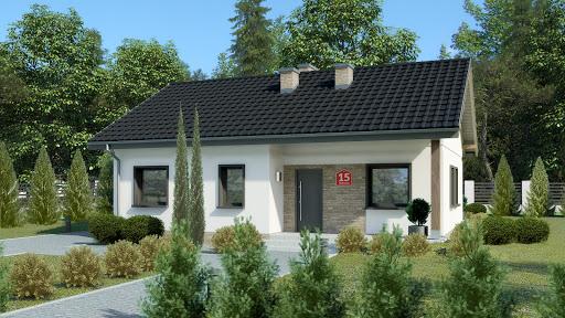 projekt Dom przy Bukowej 15