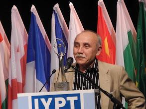 Photo: Основатель турнира юных физиков Юносов Евгений Николаевич (Москва)