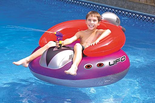 $27 Pool Float Has a Built-In Water Gun (Get Ready for Water Warfare!)