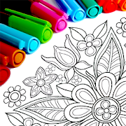 Mandala Coloring Pages MOD + APK