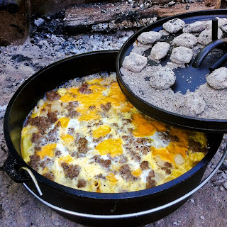 Mountain Man Breakfast Casserole