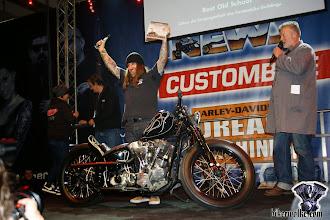 Photo: So sehen Sieger aus ! Best Old School Custombike Show 2014