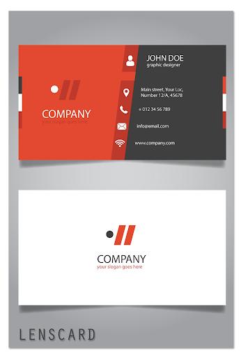 Lenscard -Business Card Maker 2.0.18 screenshots 4