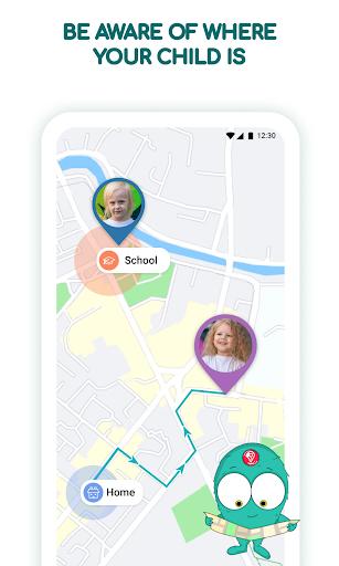 Find kids: Family Locator & u0421hildren GPS Tracker 2.4.20 Screenshots 1