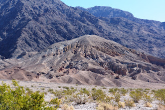 Photo: Looking east from Death Valley toward the Black Mountains
