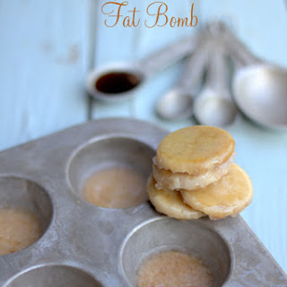 Crispy Butterscotch Fat Bomb