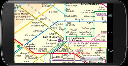 巴黎地铁地图