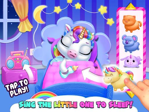 My Baby Unicorn - Virtual Pony Pet Care & Dress Up android2mod screenshots 14
