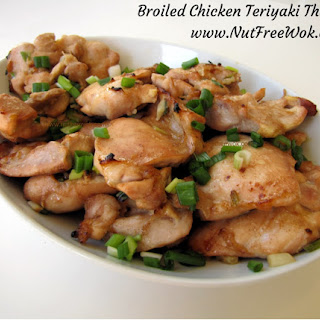 Broiled Teriyaki Chicken Thighs