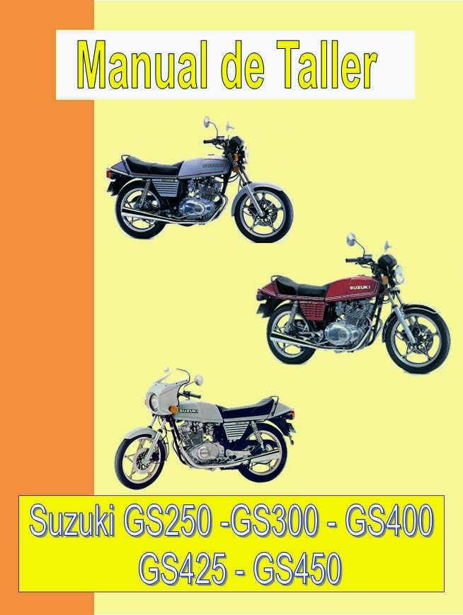 suzuki GS 450 - GSX 450-manual-taller-despiece-mecanica