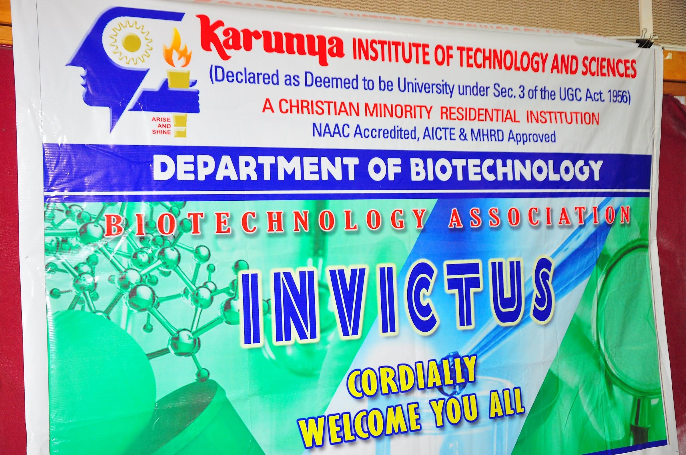 Biotech Association(VICTUS) Inauguration