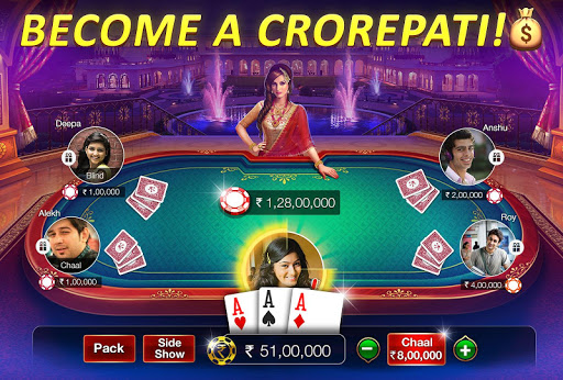 Teen Patti Gold - 3 Patti, Rummy, Poker Card Game screenshot 1