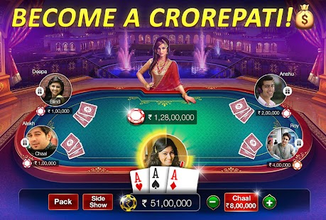 Teen Patti Gold - 3 Patti, Rummy, Poker Card Game Screenshot