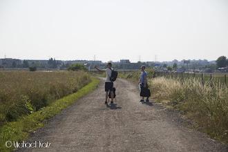 Photo: På vei til t-banen.