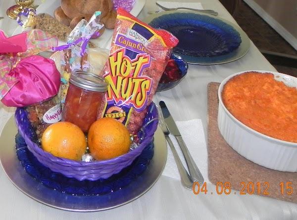 Everyone received fresh oranges, homemade granola, Orange Cranberry Jam w/Crystallized Ginger and Lemon &...