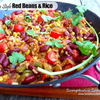 Mexican Style Red Beans & Rice