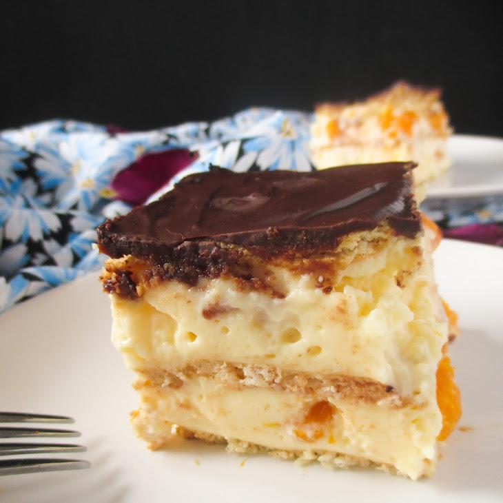 No-Bake Pudding Tangerine Dessert Recipe