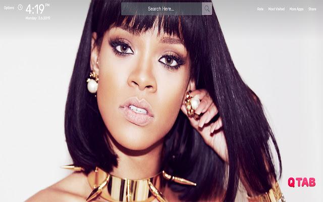 Rihanna Wallpapers HD Theme