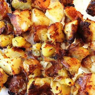 Crispy Oven-Roasted Potatoes.