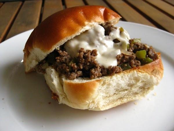 Philly Cheesesteak Sloppy Joes Recipe