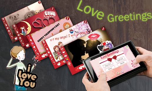 Love Greetings eCards Maker- screenshot thumbnail