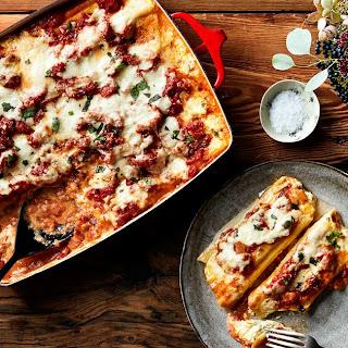 Four-Cheese Manicotti