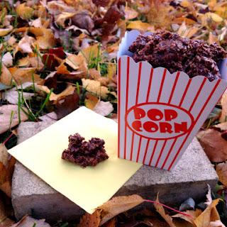 Chocolate Marshmallow Pretzel No Bake Cookies.