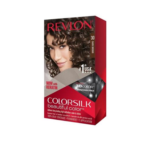 tinte revlon color silk castano oscuro 30